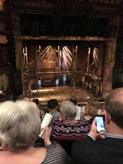 CIBC Theatre, section: Mezzanine LC, row: E, seat: 315