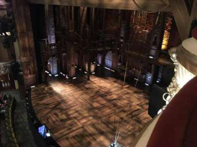 Victoria Palace Theatre, section: GRAND BOX, seat: 1