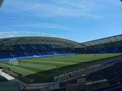 American Express Community Stadium, section: N1A, row: S, seat: 242