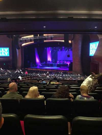 The Grand Theater at Foxwoods, section: PTRRGT, row: Mm, seat: 26