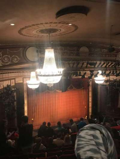 Imperial Theatre, section: RMEZZ, row: H, seat: 6