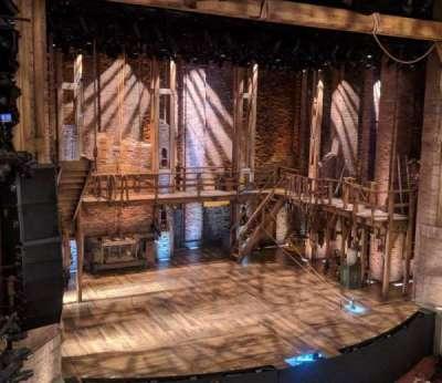 CIBC Theatre, section: Mezzanine L, row: B, seat: 5