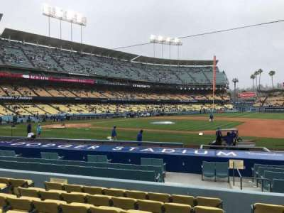 Dodger Stadium, section: 22FD, row: H, seat: 8