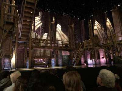 Richard Rodgers Theatre, section: ORCH, row: D, seat: 7