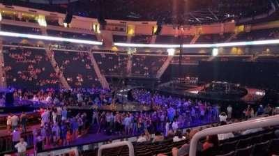 Infinite Energy Arena, section: 105, row: Q, seat: 2