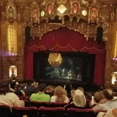 The Fabulous Fox Theatre (St. Louis), section: BA04, row: H, seat: 112