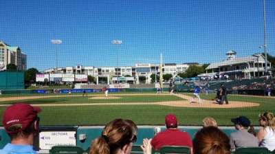 Dr Pepper Ballpark, section: 110, row: 4