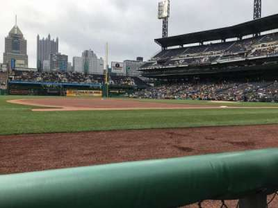 PNC Park, section: 25, row: 1, seat: 10