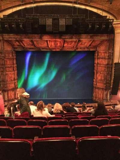 St. James Theatre, section: Center Mezz, row: K, seat: 110