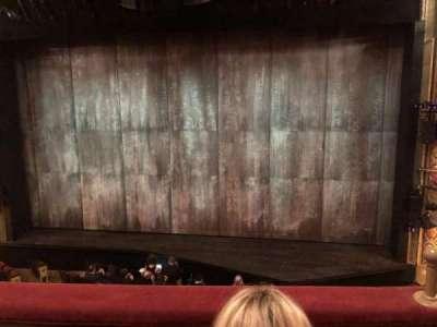 Bernard B. Jacobs Theatre, section: MezzC, row: B, seat: 102