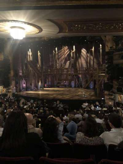 Richard Rodgers Theatre, section: Left Orchestra, row: R, seat: 16