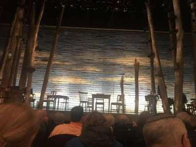 Gerald Schoenfeld Theatre, section: Orchestra, row: D, seat: 108