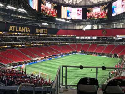 Mercedes-Benz Stadium, section: Suite 284, row: 1, seat: 7