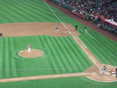 Angel Stadium, section: V413, row: D, seat: 6