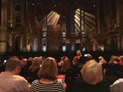 Orpheum Theatre (San Francisco), section: ORCHESTRA, row: H, seat: 105