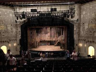 Orpheum Theatre (San Francisco), section: MEZZANINE, row: L, seat: 110