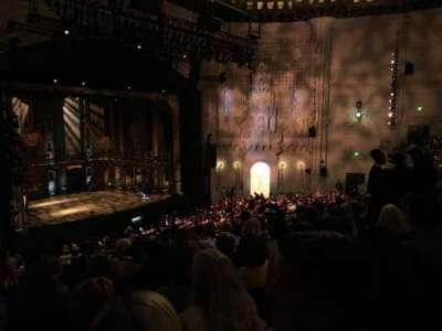 Orpheum Theatre (San Francisco), section: MEZZANINE, row: H, seat: 25