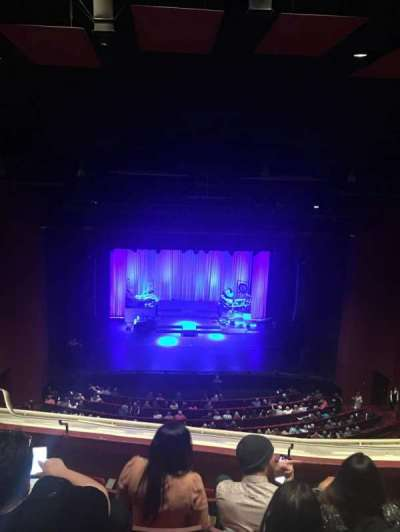 San Diego Civic Theatre, section: Balcony, row: T, seat: 9