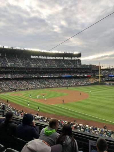 Safeco Field, section: 215, row: 4, seat: 6