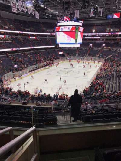 Capital One Arena, section: 211