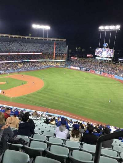Dodger Stadium, section: 34RS, row: AA, seat: 21
