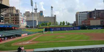 AutoZone Park, section: 105, row: T, seat: 18