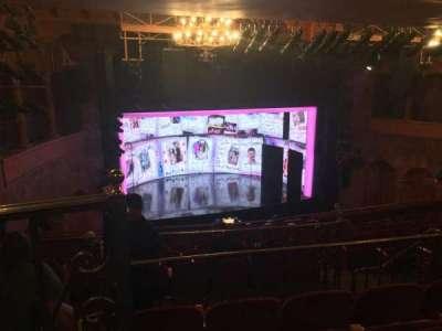 August Wilson Theatre, section: Mezzanine, row: L, seat: 13
