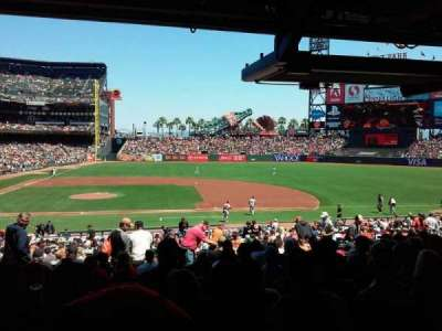 AT&T Park, section: 108, row: 36, seat: 14