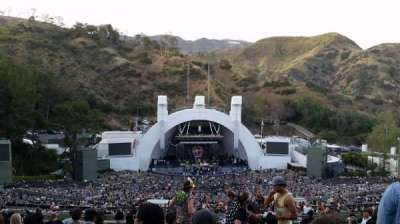 Hollywood Bowl, section: T1, row: 18, seat: 44