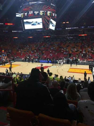 American Airlines Arena, section: 117, row: 22, seat: 15