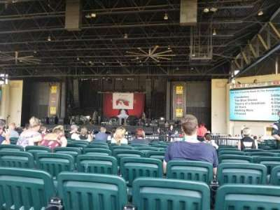 Dos Equis Pavilion, section: 202, row: S, seat: 11