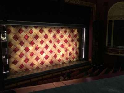 National Theatre (DC), section: Mezzanine, row: A, seat: 9