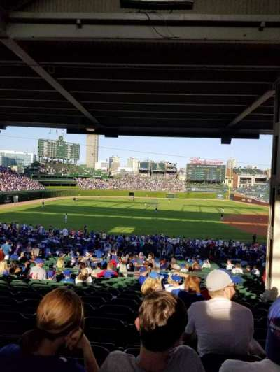 Wrigley Field, section: 208, row: 15, seat: 107