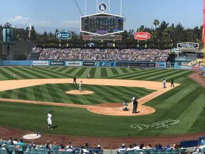 Dodger Stadium, section: 111LG, row: B, seat: 1
