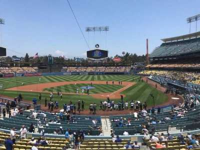 Dodger Stadium, section: 111LG, row: B, seat: 2