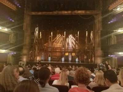 CIBC Theatre, section: Orchestra C, row: R, seat: 109