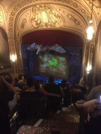 Orpheum Theatre (San Francisco) section Balcony 2