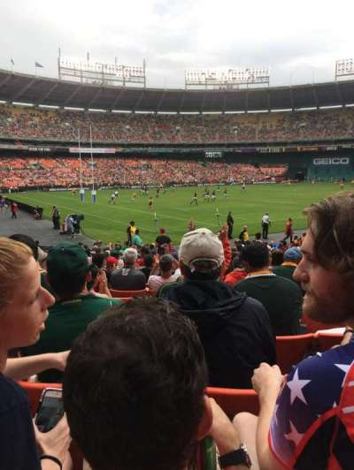 RFK Stadium, section: 213, row: 8, seat: 13