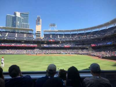 PETCO Park, section: 128, row: 2, seat: 3