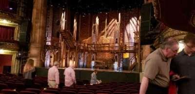 CIBC Theatre, section: Orchestra R, row: R, seat: 16