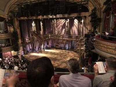 Richard Rodgers Theatre, section: Mezzanine, row: C, seat: 22