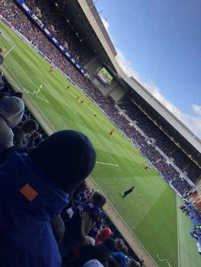 Ibrox Stadium, section: BF 1, row: R, seat: 28