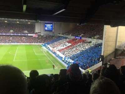 Ibrox Stadium, section: MRC, row: C, seat: 72