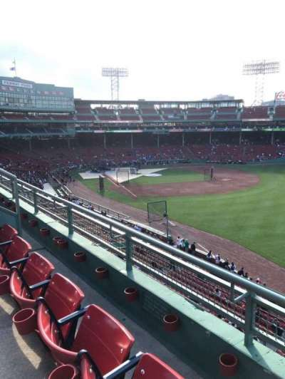 Fenway Park, section: Roof Box 29, row: B, seat: 1