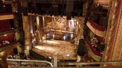 CIBC Theatre, section: Balcony R, row: B, seat: 4,6