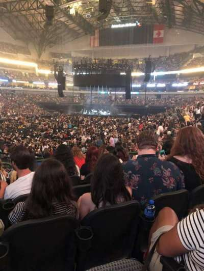 American Airlines Center, section: 110, row: S, seat: 11