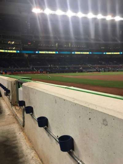 Marlins Park, section: FL2, row: AA, seat: 11