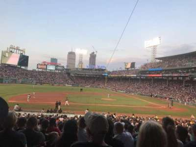 Fenway Park, section: Grandstand 25, row: 2, seat: 5