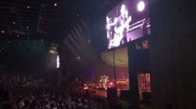 Merriweather Post Pavilion, section: Right Loge, row: B, seat: 205
