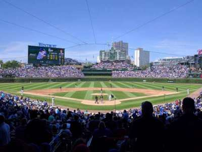 Wrigley Field, section: 220, row: 5, seat: 12